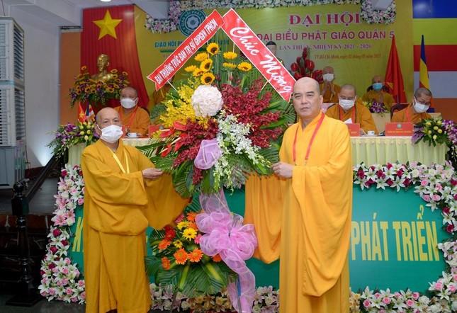Thượng tọa Thích Truyền Cường được tái suy cử Trưởng ban Trị sự Phật giáo quận 5 ảnh 4