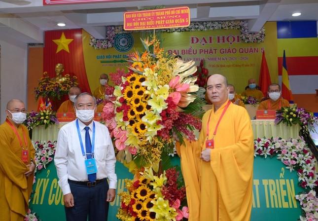 Thượng tọa Thích Truyền Cường được tái suy cử Trưởng ban Trị sự Phật giáo quận 5 ảnh 24
