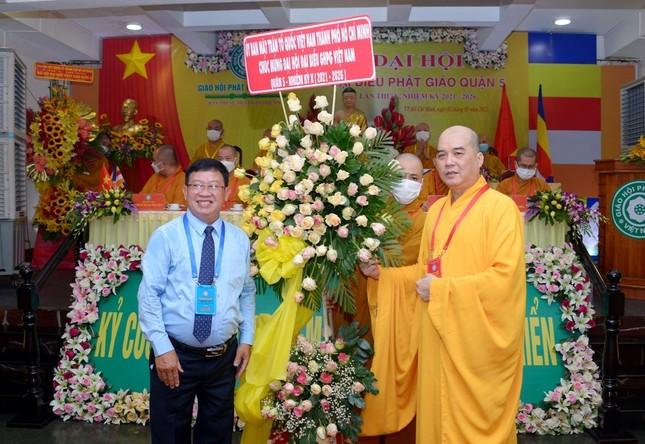 Thượng tọa Thích Truyền Cường được tái suy cử Trưởng ban Trị sự Phật giáo quận 5 ảnh 25