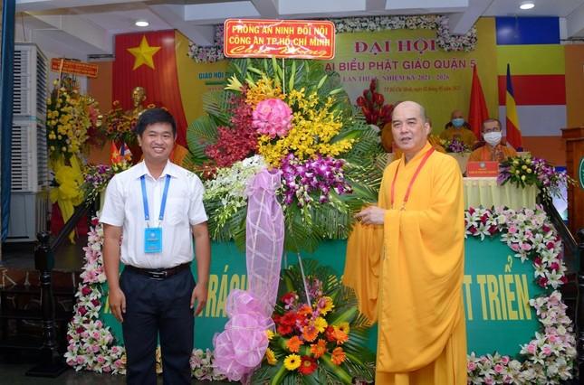Thượng tọa Thích Truyền Cường được tái suy cử Trưởng ban Trị sự Phật giáo quận 5 ảnh 26