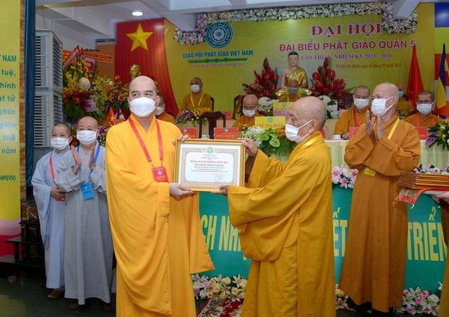 Thượng tọa Thích Truyền Cường được tái suy cử Trưởng ban Trị sự Phật giáo quận 5 ảnh 5