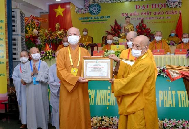 Thượng tọa Thích Truyền Cường được tái suy cử Trưởng ban Trị sự Phật giáo quận 5 ảnh 16