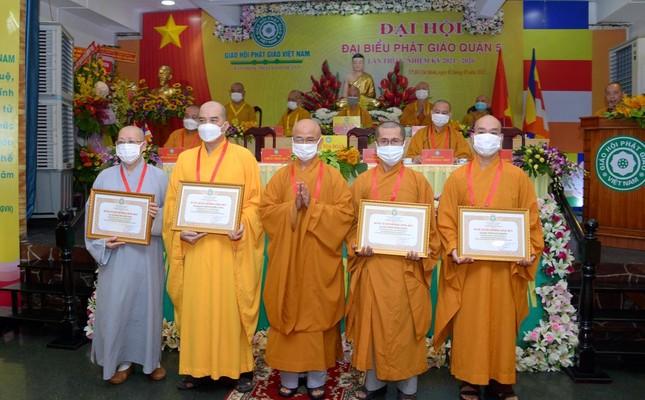 Thượng tọa Thích Truyền Cường được tái suy cử Trưởng ban Trị sự Phật giáo quận 5 ảnh 17