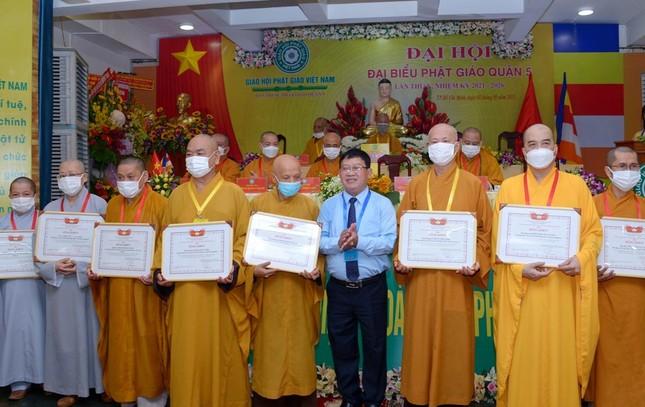 Thượng tọa Thích Truyền Cường được tái suy cử Trưởng ban Trị sự Phật giáo quận 5 ảnh 20