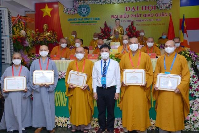 Thượng tọa Thích Truyền Cường được tái suy cử Trưởng ban Trị sự Phật giáo quận 5 ảnh 18
