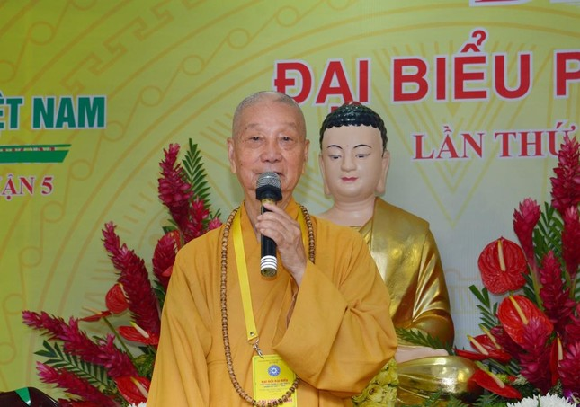 Thượng tọa Thích Truyền Cường được tái suy cử Trưởng ban Trị sự Phật giáo quận 5 ảnh 6
