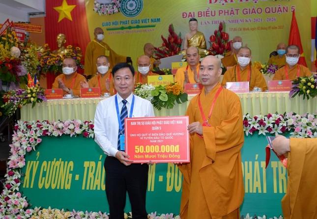 Thượng tọa Thích Truyền Cường được tái suy cử Trưởng ban Trị sự Phật giáo quận 5 ảnh 23