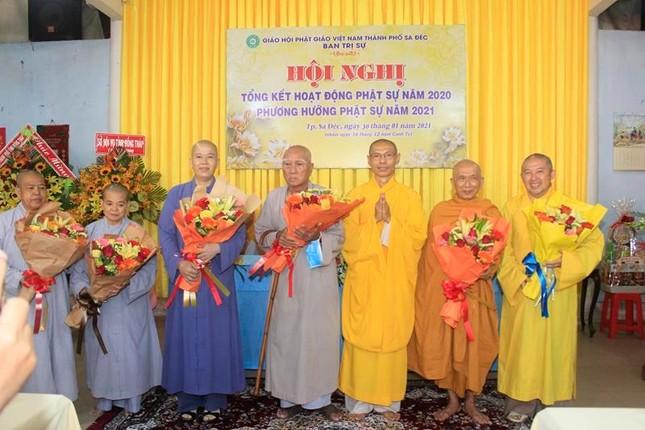 Đồng Tháp: Phật giáo TP.Sa Đéc tổng kết công tác Phật sự năm 2020 ảnh 2