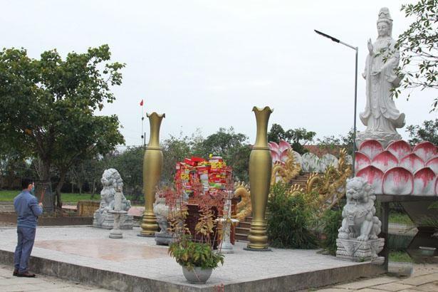 Hà Tĩnh: Các chùa linh hoạt trong cách thức hành lễ để phòng dịch Covid-19 ảnh 2