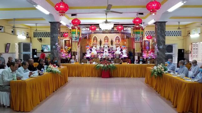 Ban Trị sự Phật giáo quận 8 họp triển khai công tác Phật sự năm 2021 ảnh 1
