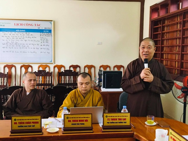 Nghệ An: Giới thiệu Thượng tọa Thích Thọ Lạc ứng cử đại biểu Hội đồng Nhân dân tỉnh ảnh 1