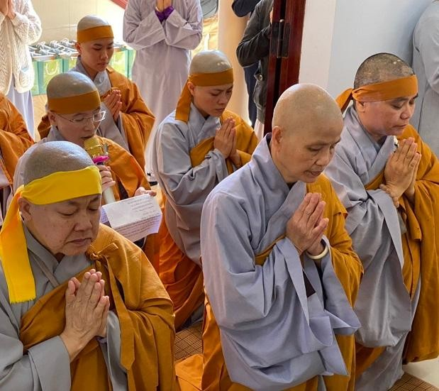 Lâm Đồng: Lễ tiểu tường Ni trưởng Thích nữ Huệ Phước ảnh 2