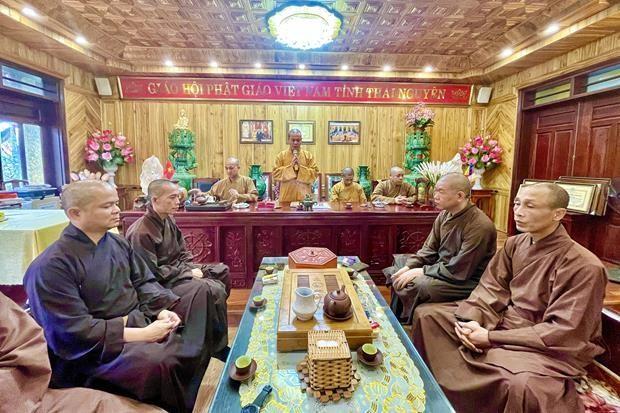 Thái Nguyên: Ban Trị sự Phật giáo tỉnh họp mặt đầu năm Tân Sửu ảnh 1