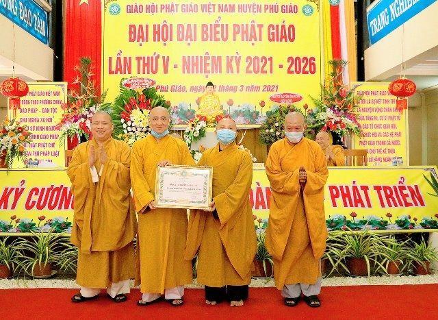 Bình Dương: Đại hội đại biểu Phật giáo huyện Phú Giáo lần V nhiệm kỳ 2021-2026 ảnh 2