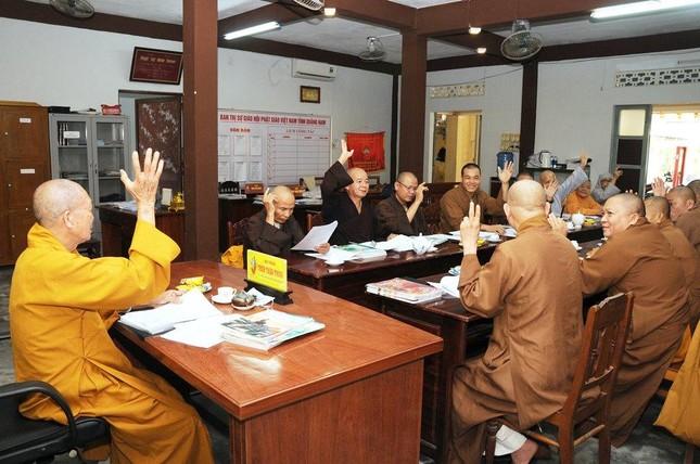 Quảng Nam: Ban Thường trực Ban Trị sự tỉnh triển khai Phật sự ảnh 1