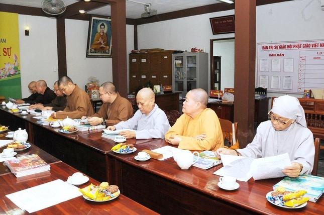 Quảng Nam: Ban Thường trực Ban Trị sự tỉnh triển khai Phật sự ảnh 2