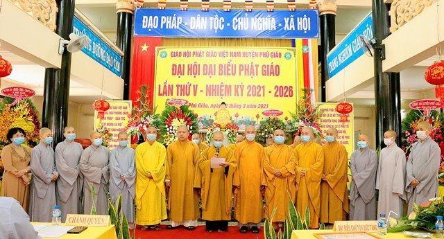 Bình Dương: Đại hội đại biểu Phật giáo huyện Phú Giáo lần V nhiệm kỳ 2021-2026 ảnh 3