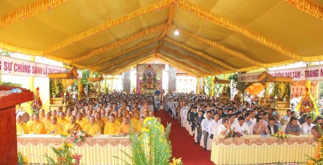 Quảng Trị: Lễ trao quyết định bổ nhiệm trụ trì chùa Bình Trung ảnh 3