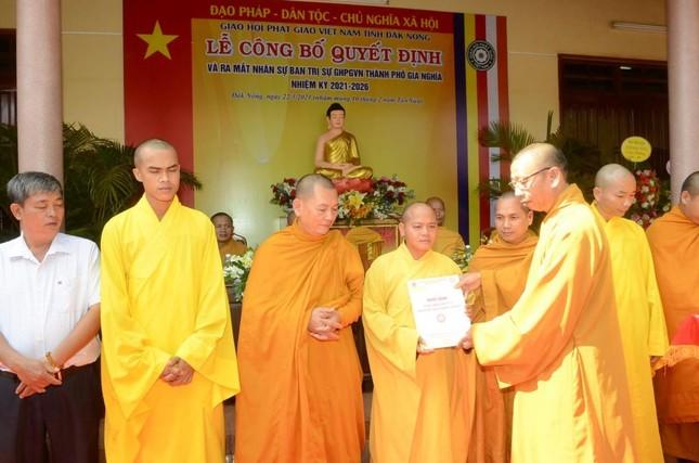 Đắk Nông: Đại đức Thích Giác Nhường làm Trưởng ban Trị sự Phật giáo TP.Gia Nghĩa ảnh 2