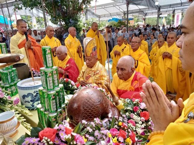 Quảng Ngãi: Lễ đặt đá trùng tu chùa An Sơn ảnh 1