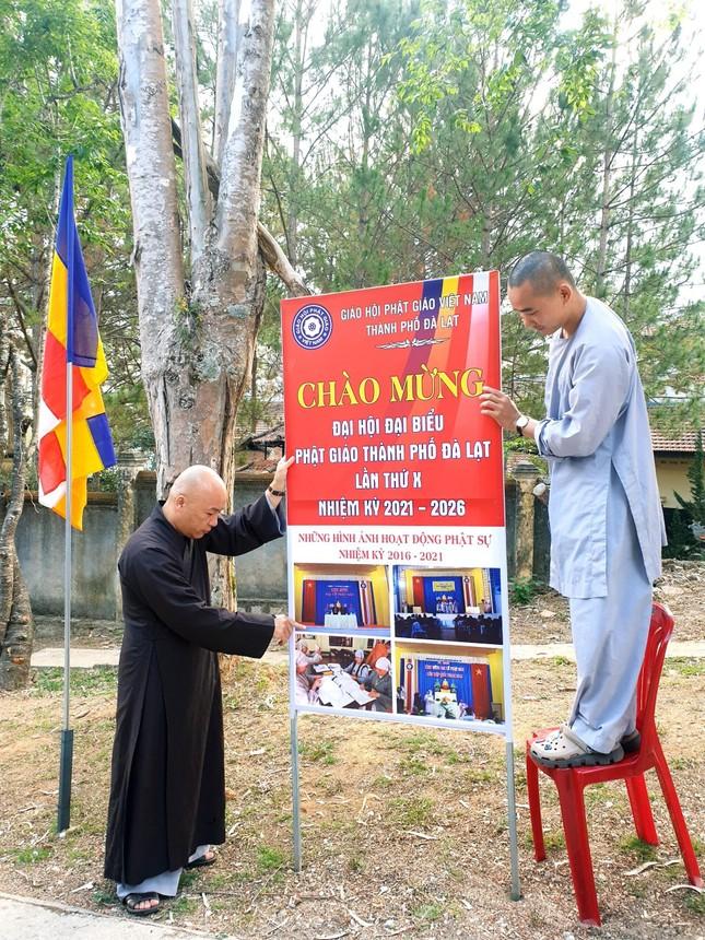 Lâm Đồng: Công tác chuẩn bị Đại hội đại biểu Phật giáo TP.Đà Lạt lần thứ X ảnh 1