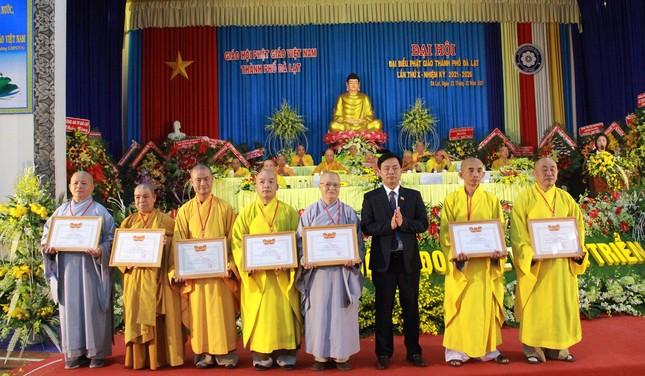 Lâm Đồng: Đại đức Thích Vạn Trí tiếp tục làm Trưởng ban Trị sự TP.Đà Lạt ảnh 5