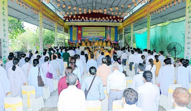 Long An: Ban Trị sự Phật giáo liên huyện Tân Thạnh có tân Trưởng ban ảnh 2