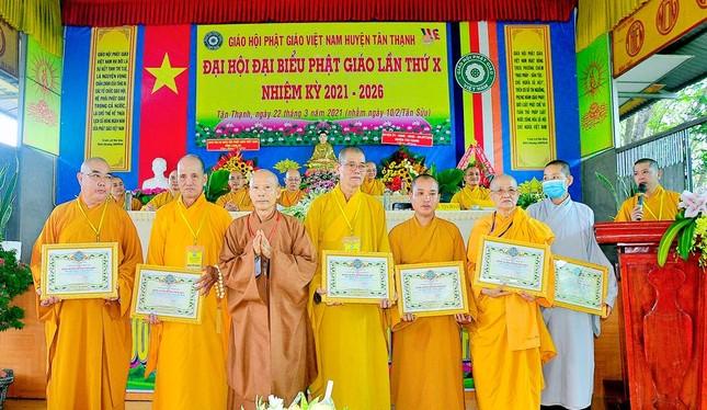 Long An: Ban Trị sự Phật giáo liên huyện Tân Thạnh có tân Trưởng ban ảnh 4
