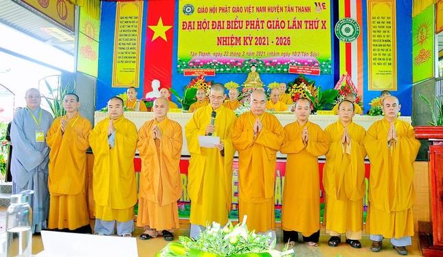 Long An: Ban Trị sự Phật giáo liên huyện Tân Thạnh có tân Trưởng ban ảnh 3