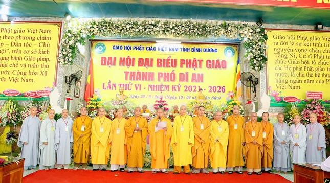 Bình Dương: Đại hội đại biểu Phật giáo TP.Dĩ An lần thứ VI ảnh 3