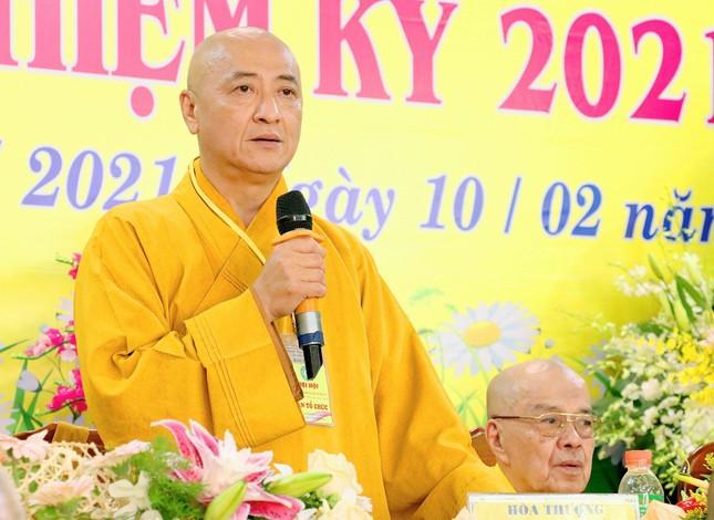 Bình Dương: Đại hội đại biểu Phật giáo TP.Dĩ An lần thứ VI ảnh 4