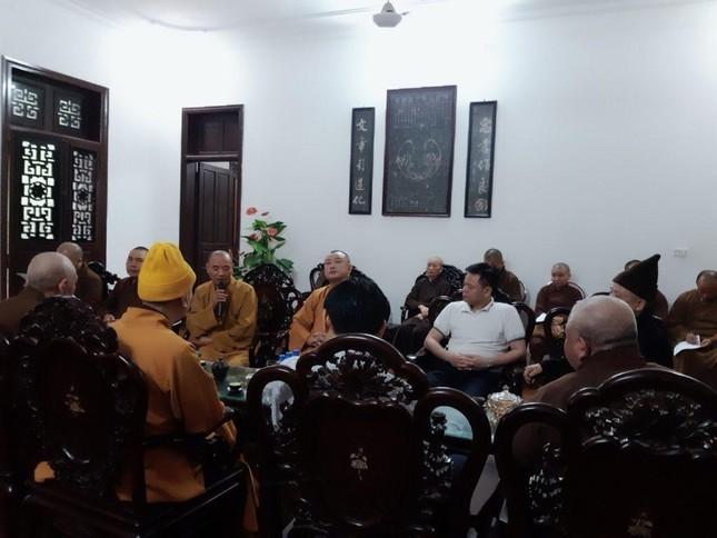 Hà Nam: Họp Ban Thường trực Ban Trị sự Phật giáo tỉnh ảnh 1