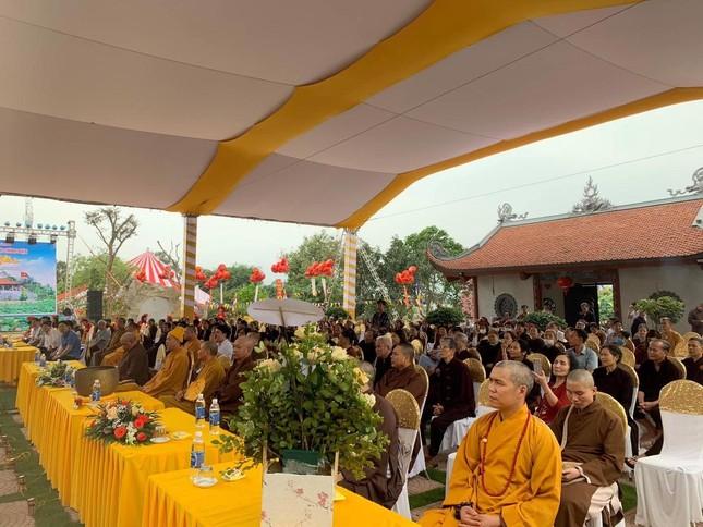 Hà Nam: Lễ lạc thành đại hùng bảo điện chùa Thiên Phúc ảnh 1