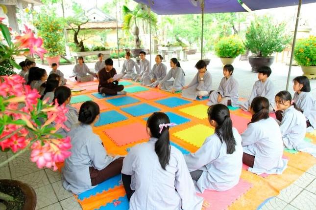 """Thừa Thiên Huế: Chùa Giác Thế tổ chức khóa tu tuổi trẻ """"Lắng nghe để hiểu"""" ảnh 6"""