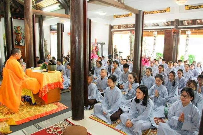 """Thừa Thiên Huế: Chùa Giác Thế tổ chức khóa tu tuổi trẻ """"Lắng nghe để hiểu"""" ảnh 2"""
