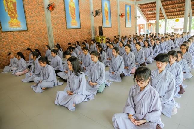 """Thừa Thiên Huế: Chùa Giác Thế tổ chức khóa tu tuổi trẻ """"Lắng nghe để hiểu"""" ảnh 4"""