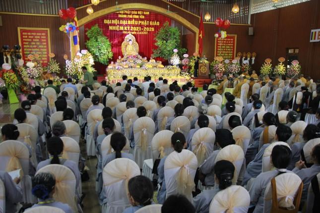Vĩnh Phúc: Đại hội đại biểu Phật giáo TP.Vĩnh Yên nhiệm kỳ 2021-2026 ảnh 1
