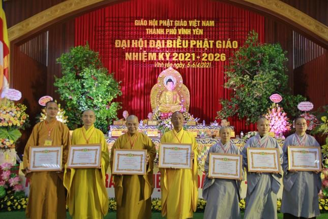 Vĩnh Phúc: Đại hội đại biểu Phật giáo TP.Vĩnh Yên nhiệm kỳ 2021-2026 ảnh 2