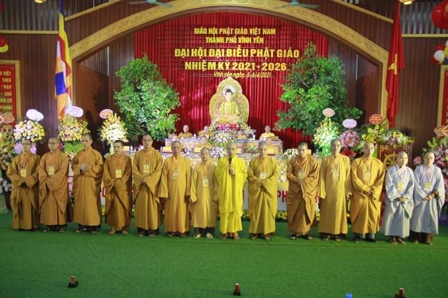 Vĩnh Phúc: Đại hội đại biểu Phật giáo TP.Vĩnh Yên nhiệm kỳ 2021-2026 ảnh 3