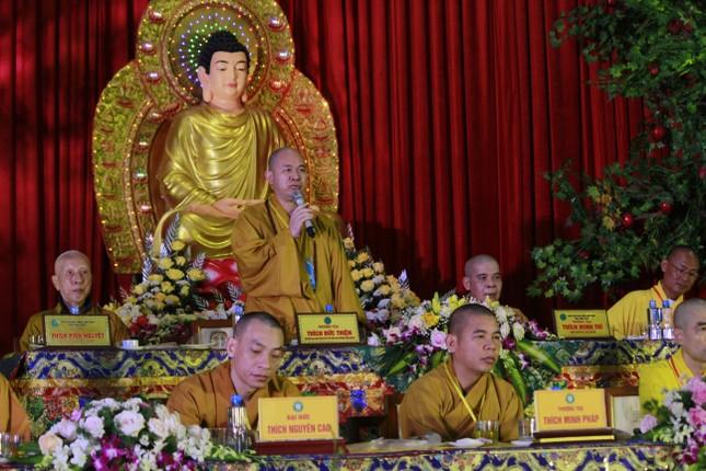 Vĩnh Phúc: Đại hội đại biểu Phật giáo TP.Vĩnh Yên nhiệm kỳ 2021-2026 ảnh 4