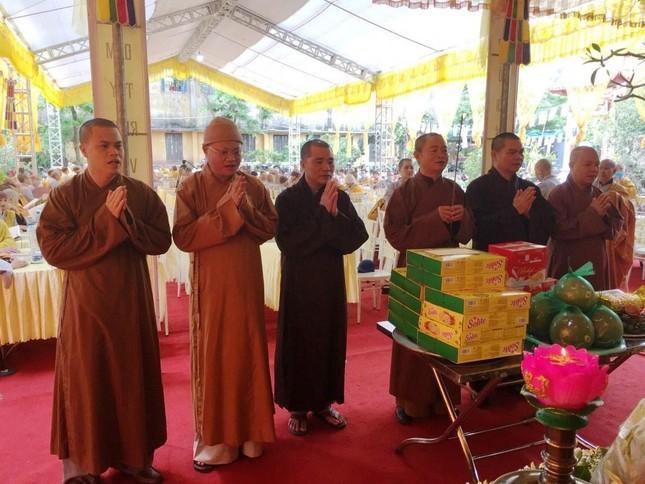 Thái Bình: Lễ bách nhật Ni trưởng Thích Đàm Niệm ảnh 1