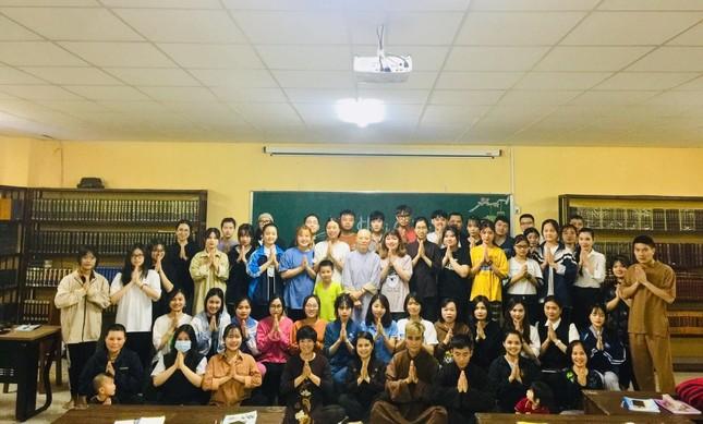 Khai giảng lớp tiếng Trung miễn phí tại chùa Long Hưng (Hà Nội) ảnh 1