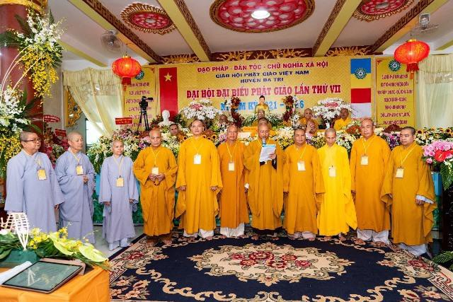 Bến Tre: Đại hội đại biểu Phật giáo huyện Ba Tri nhiệm kỳ VII (2021-2026) ảnh 4