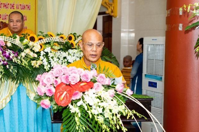 Bến Tre: Đại hội đại biểu Phật giáo huyện Ba Tri nhiệm kỳ VII (2021-2026) ảnh 2