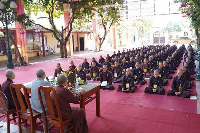 Các ngày hành sám tại Đại giới đàn Hà Nội Phật lịch 2565 ảnh 4