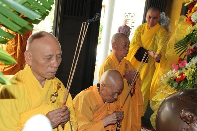 Thừa Thiên Huế: Lễ tưởng niệm húy nhật lần thứ 37 cố Trưởng lão Hòa thượng Thích Trí Thủ ảnh 1
