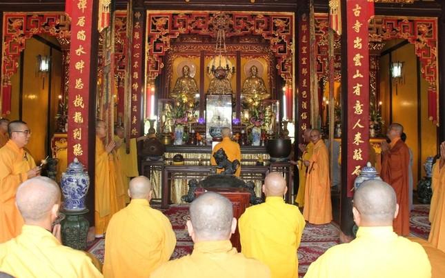 Thừa Thiên Huế: Lễ tưởng niệm húy nhật lần thứ 37 cố Trưởng lão Hòa thượng Thích Trí Thủ ảnh 2