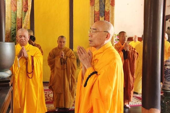 Thừa Thiên Huế: Lễ tưởng niệm húy nhật lần thứ 37 cố Trưởng lão Hòa thượng Thích Trí Thủ ảnh 3