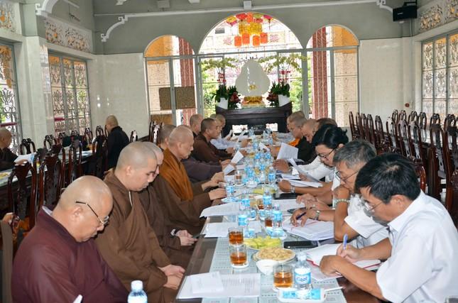 TP.HCM: Ban Trị sự Phật giáo quận Bình Thạnh triển khai hoạt động Phật sự ảnh 2