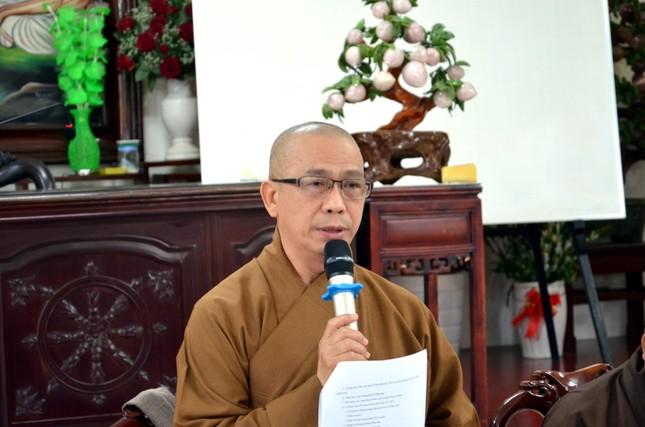 TP.HCM: Ban Trị sự Phật giáo quận Bình Thạnh triển khai hoạt động Phật sự ảnh 1
